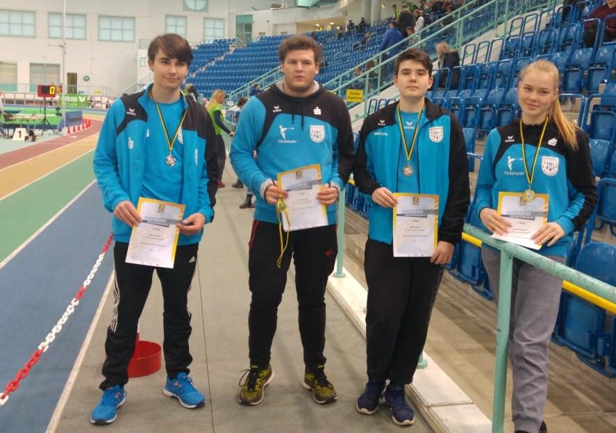 HLM und Winterwurf U18, Männer und Frauen