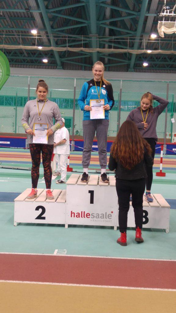Hallen-Landesmeisterschaften und Winterwurf
