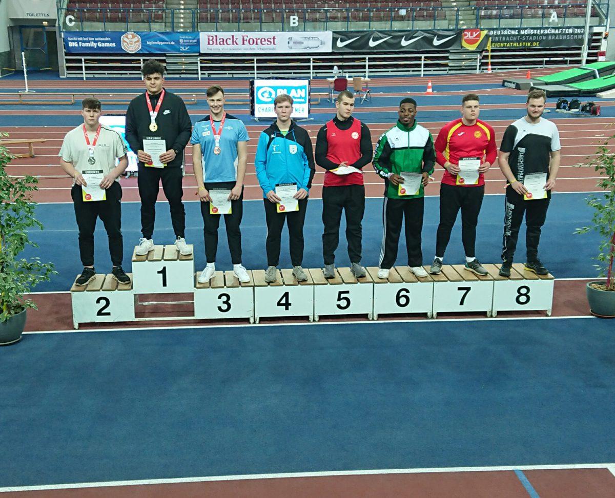 Deutsche Hallenmeisterschaften und Winterwurf