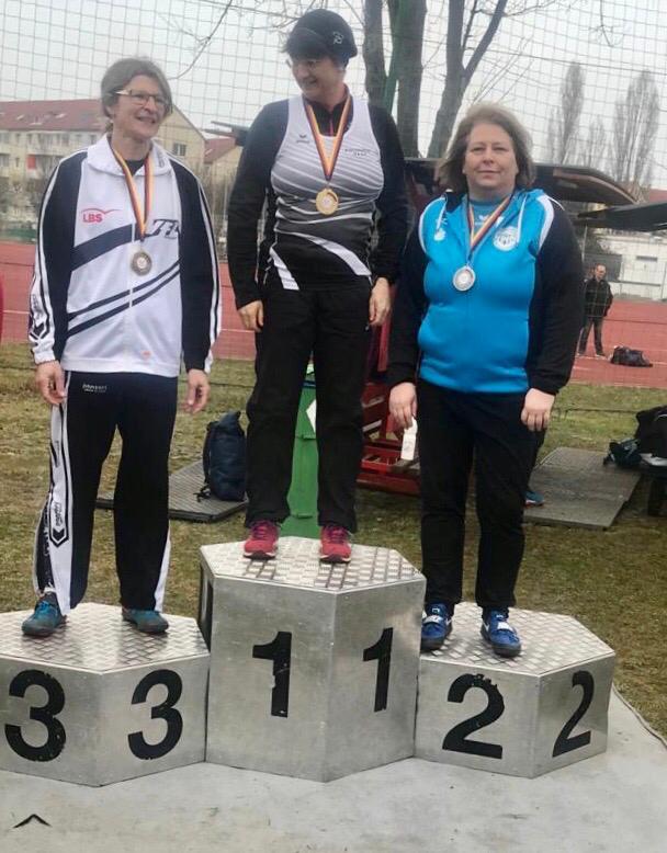 Silbermedaille für Andrea Bierende