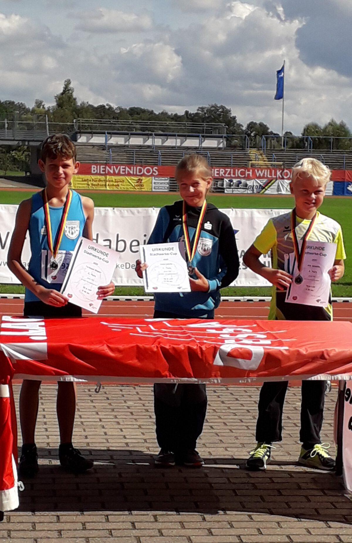 Erfolgreiches Wettkampfwochenende für WLT-Athleten